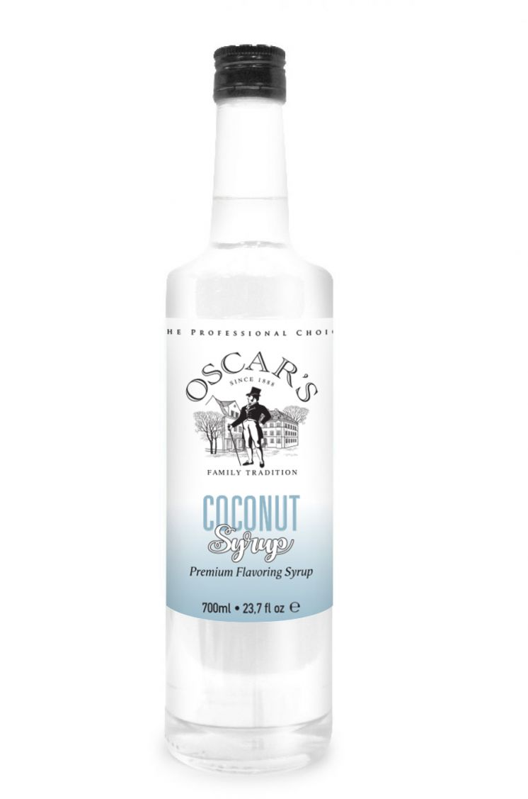 Oscar's Coconut Flavored Coffee Syrup