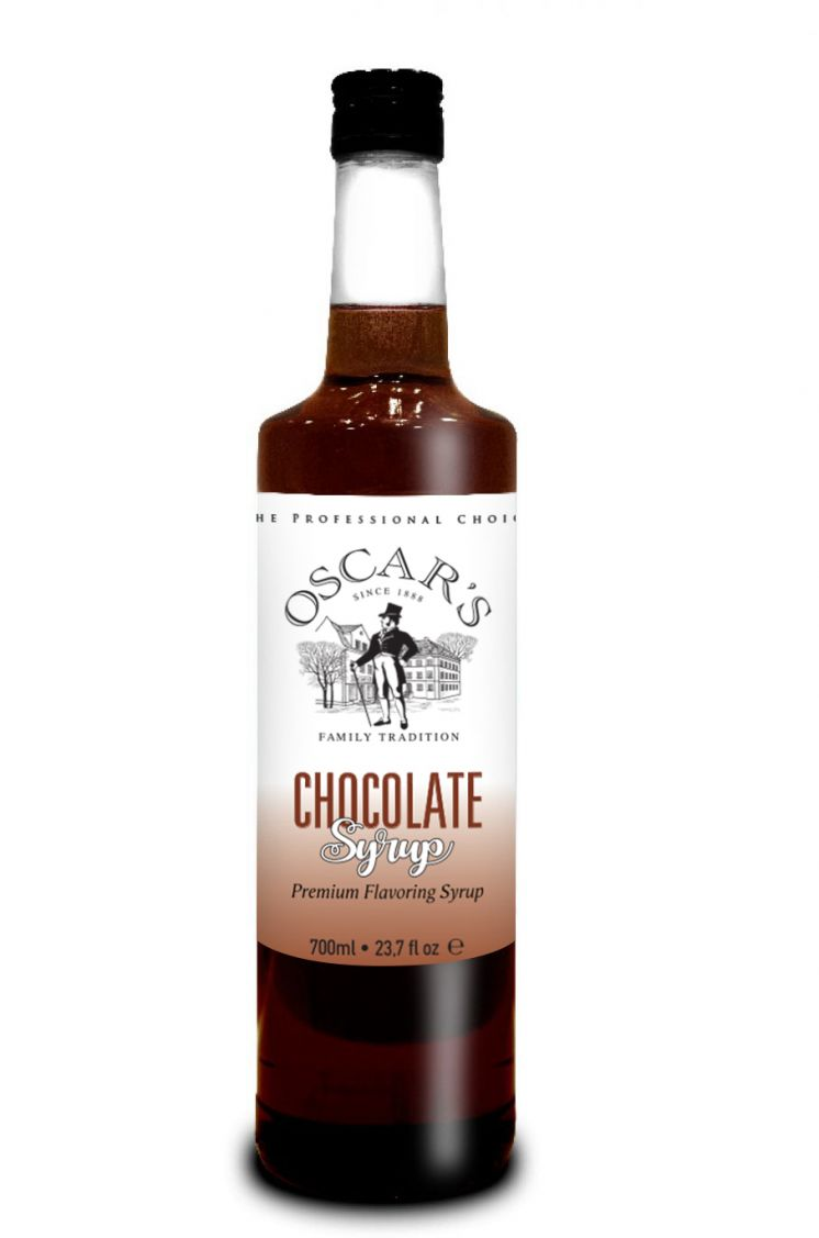 Oscar's Bavarian Chocolate Flavored Coffee Syrup